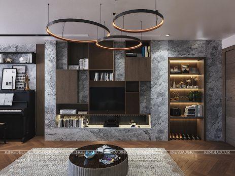 Thiết kế nội thất căn hộ Việt Đức Complex