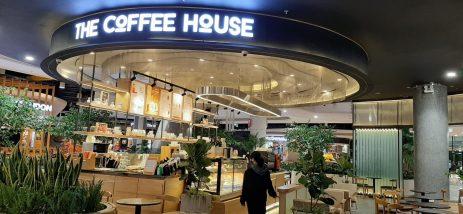 Thiết kế quán cafe The Coffee House Aeon Mall Hà Đông