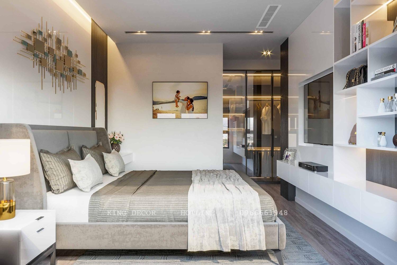 Thiết kế căn hộ 162m2 tại Legacy