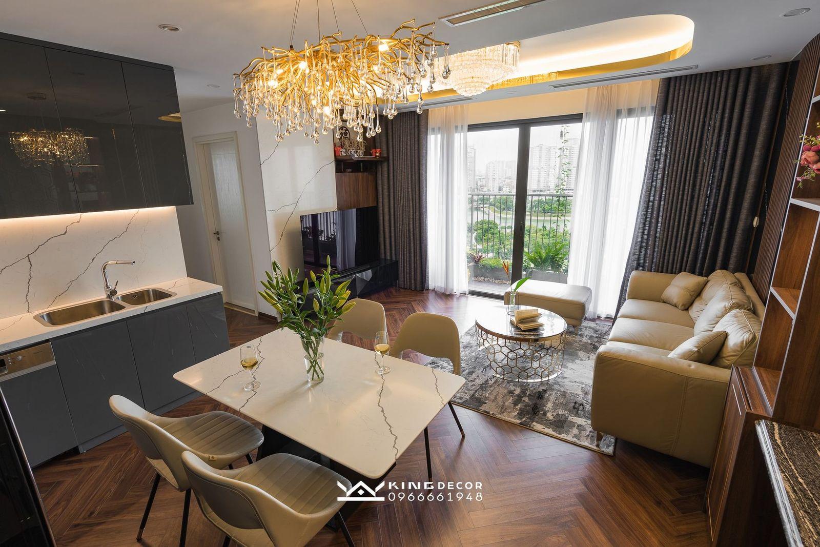 Thiết kế nội thất chung cư Vinhomes Dcapitale