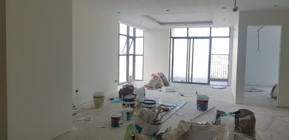 Thiết kế căn hộ tại New Skyline A1812