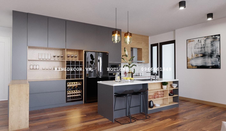 Thiết kế nội thất căn hộ Duplex tại Vinhomes Gardenia
