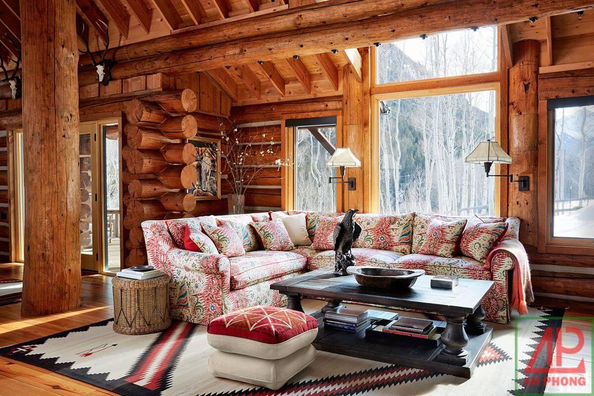 Phong cách thiết kế nội thất Rustic - vẻ đẹp hoàn mỹ đến từ tự nhiên