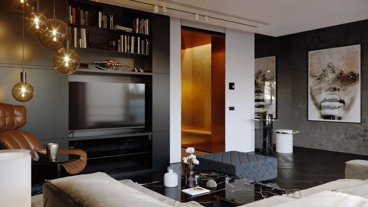 Xu hướng phong cách thiết kế nội thất Metallic - nghệ thuật ánh kim