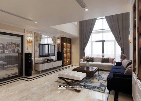 Thiết kế & Thi công nội thất căn Duplex tại New Skyline – Anh Nam