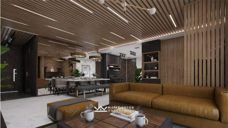 현대적인 LUXURY 스타일 – SEASON AVENUE아파트 의 인테리어 건설