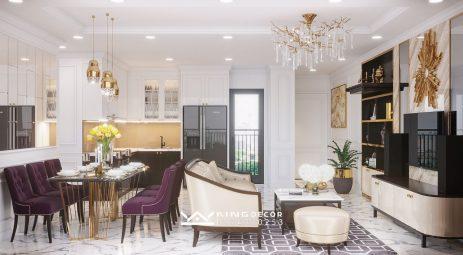 VIHOMES D'CAPITALE C3.3912아파트의 설계 스타일 – 신고전주의 스타일