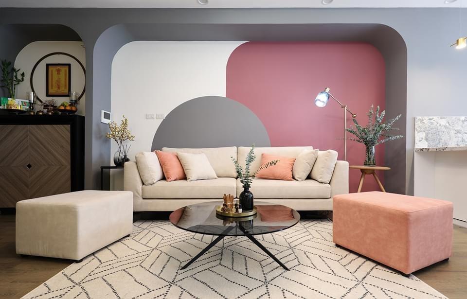 Tất tần tật kiến thức cần biết về phong cách nội thất Color Block