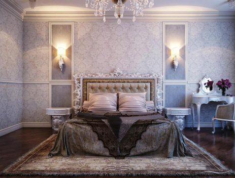 Một vài điểm nổi bật trong nội thất phòng ngủ cổ điển
