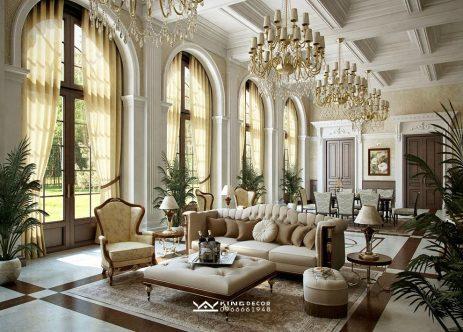 4 nét đặc trưng cơ bản khi thiết kế biệt thự phong cách châu Âu