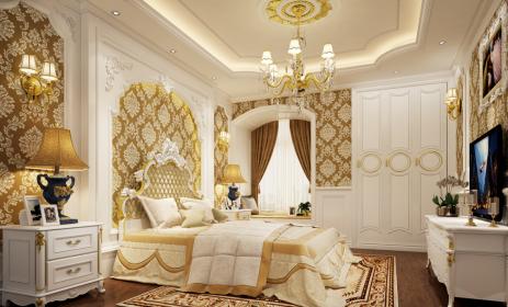 Tổng hợp 5 mẫu trần thạch cao phòng ngủ đẹp ngất ngây