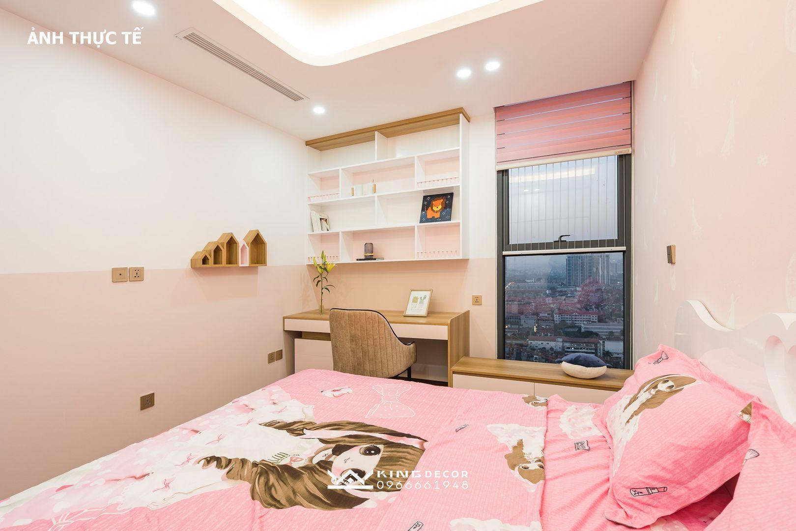 Ảnh thực tế thi công nội thất căn hộ B.2810 tại New Skyline
