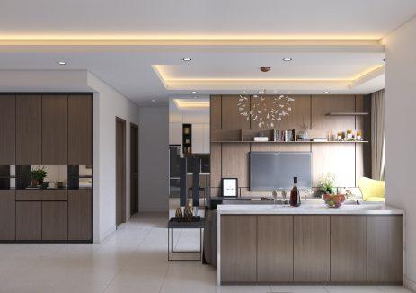 3 kinh nghiệm hữu ích khi thiết kế mẫu trần thạch cao phòng bếp