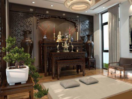 Lưu ý nhất định phải biết về thiết kế vị trí bàn thờ cho biệt thự