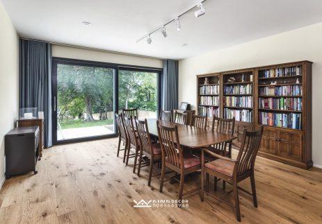Thiết kế phòng đọc sách biệt thự