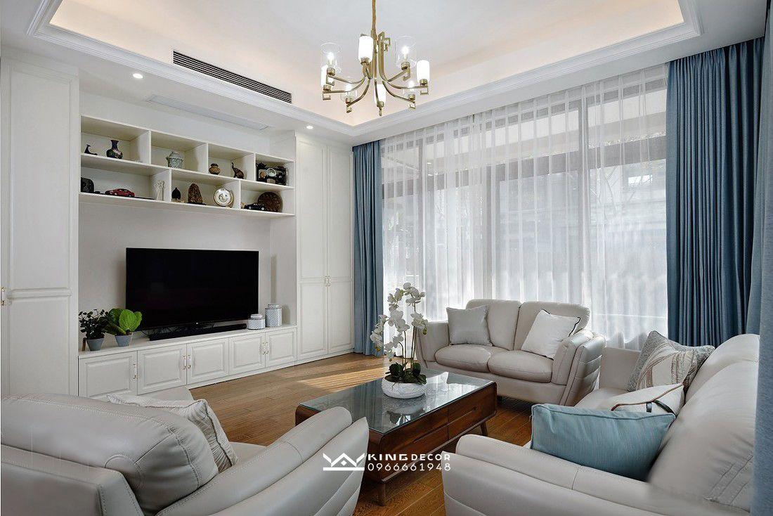 Mẫu thiết kế nội thất biệt thự đơn lập
