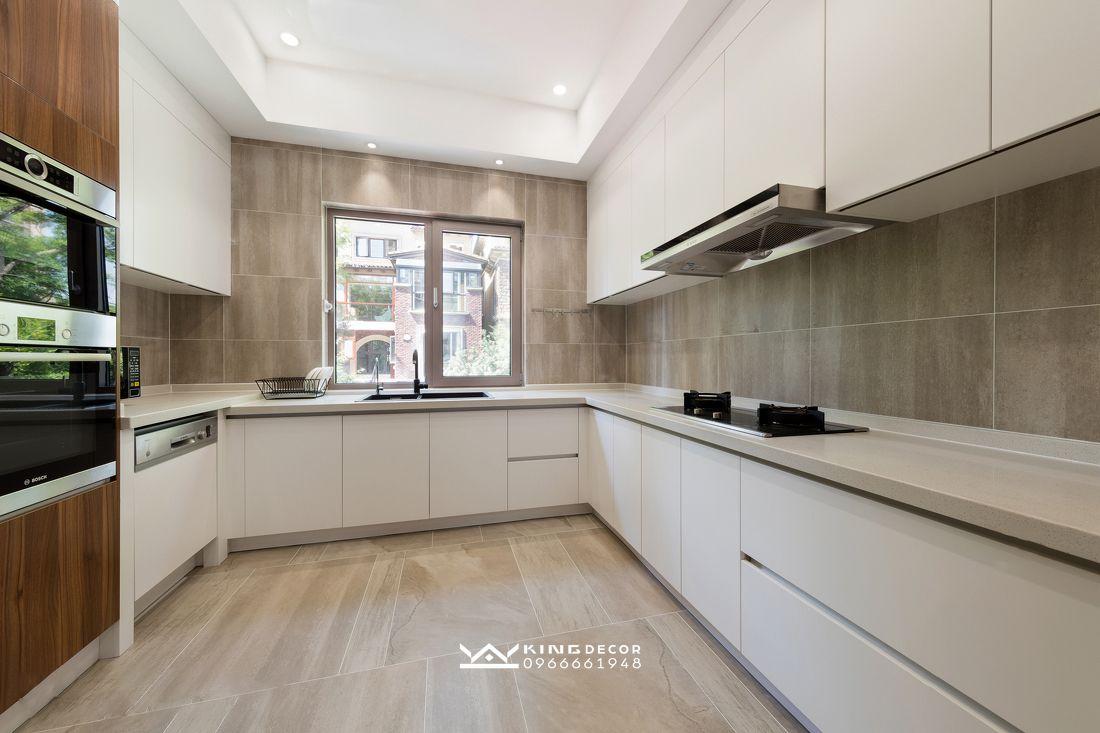 Thiết kế nội thất biệt thự phong cách minimalism